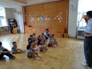 令和元年度幼稚園1学期終業式