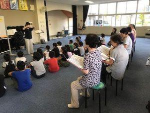 童歌の方と練習