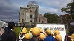 原爆ドームの見学