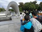 公園内の碑巡り