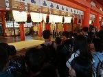 厳島神社見学