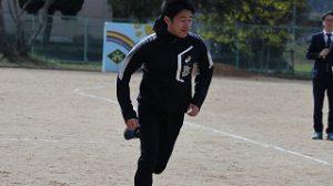 江里口さんの100M走を見せていただこう!
