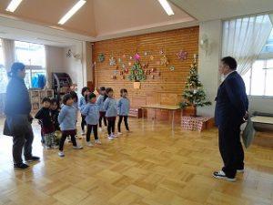 幼稚園2学期終業式