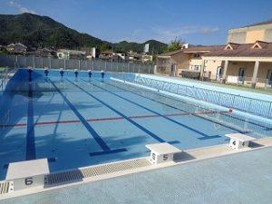 プール改修工事完了!