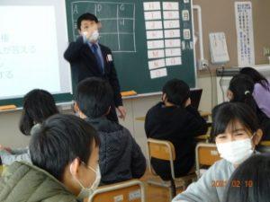 6年 中学校の英語出前授業