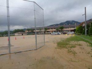 引き渡し訓練駐車場