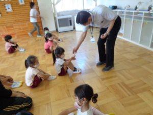 幼稚園朝の会 黒豆